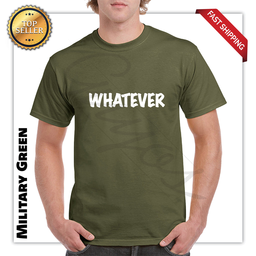 Funny Whatever Mens Graphic T-Shirt