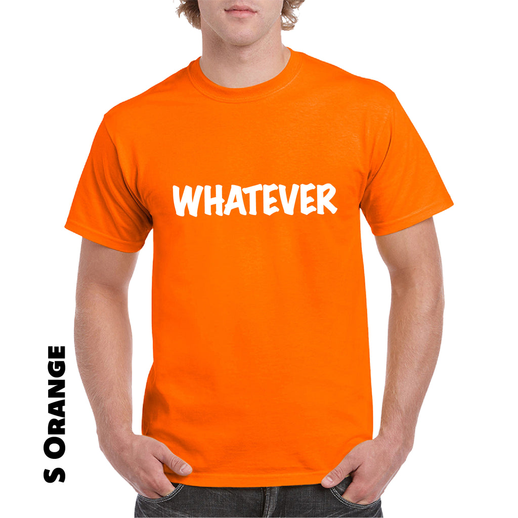 WHATEVER FUNNY T-shirt high-quality printing PARTY TSHIRT - guyos apparel.com