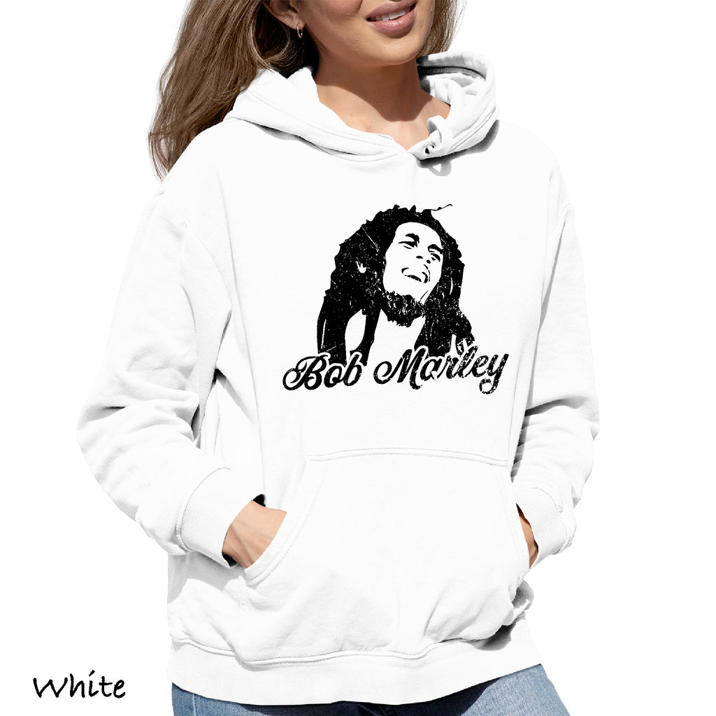 Woman's Hoodie BOB MARLEY Great Funny Party college Gift Hooded Sweatshirt