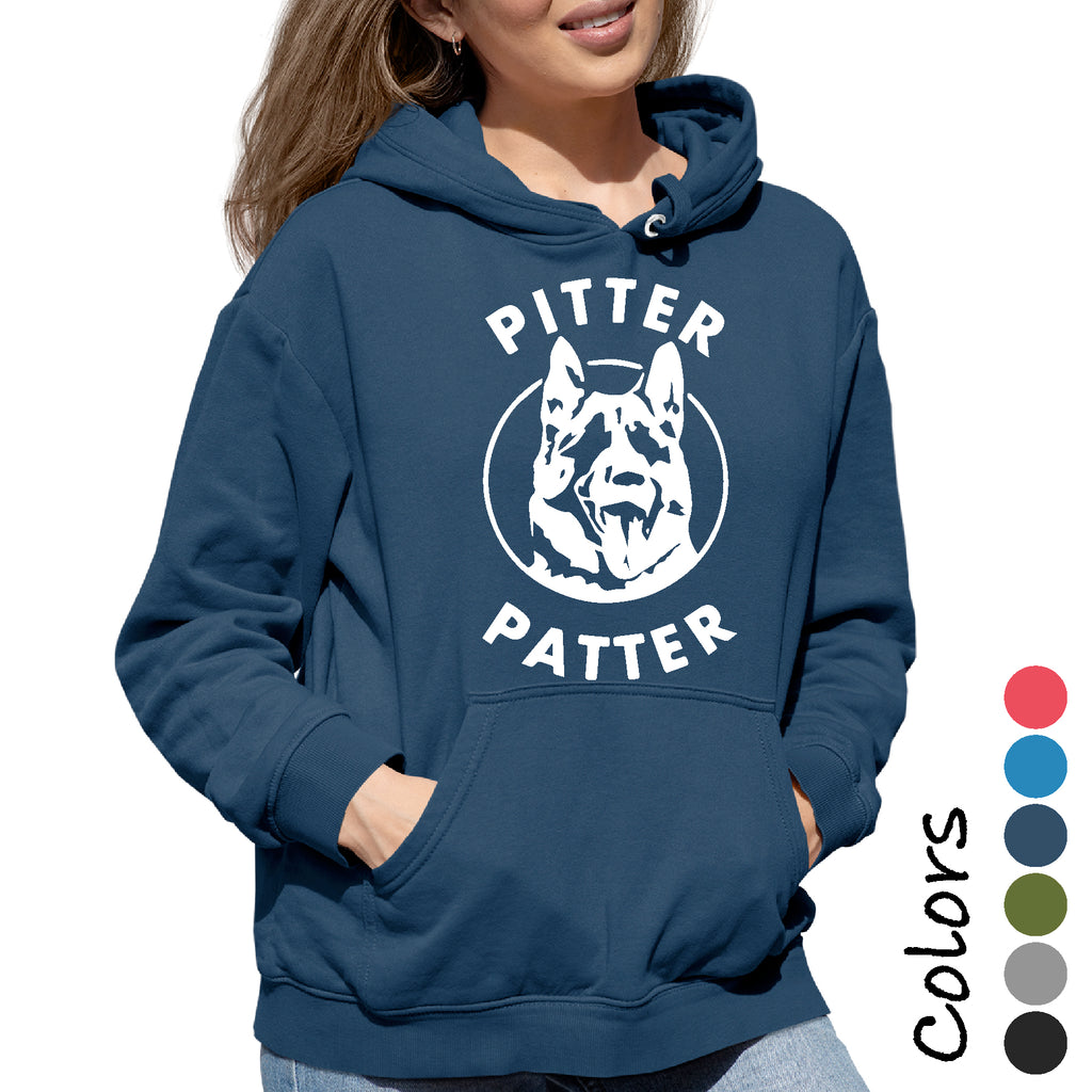 Woman's Hoodie letterkenny Pitter Patter Funny Party College Novelty sarcastic Hooded Sweatshirt