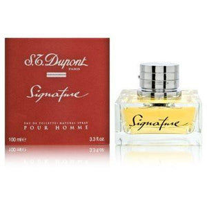 St Dupont Signature Pour Homme 3.3 oz EDT for men