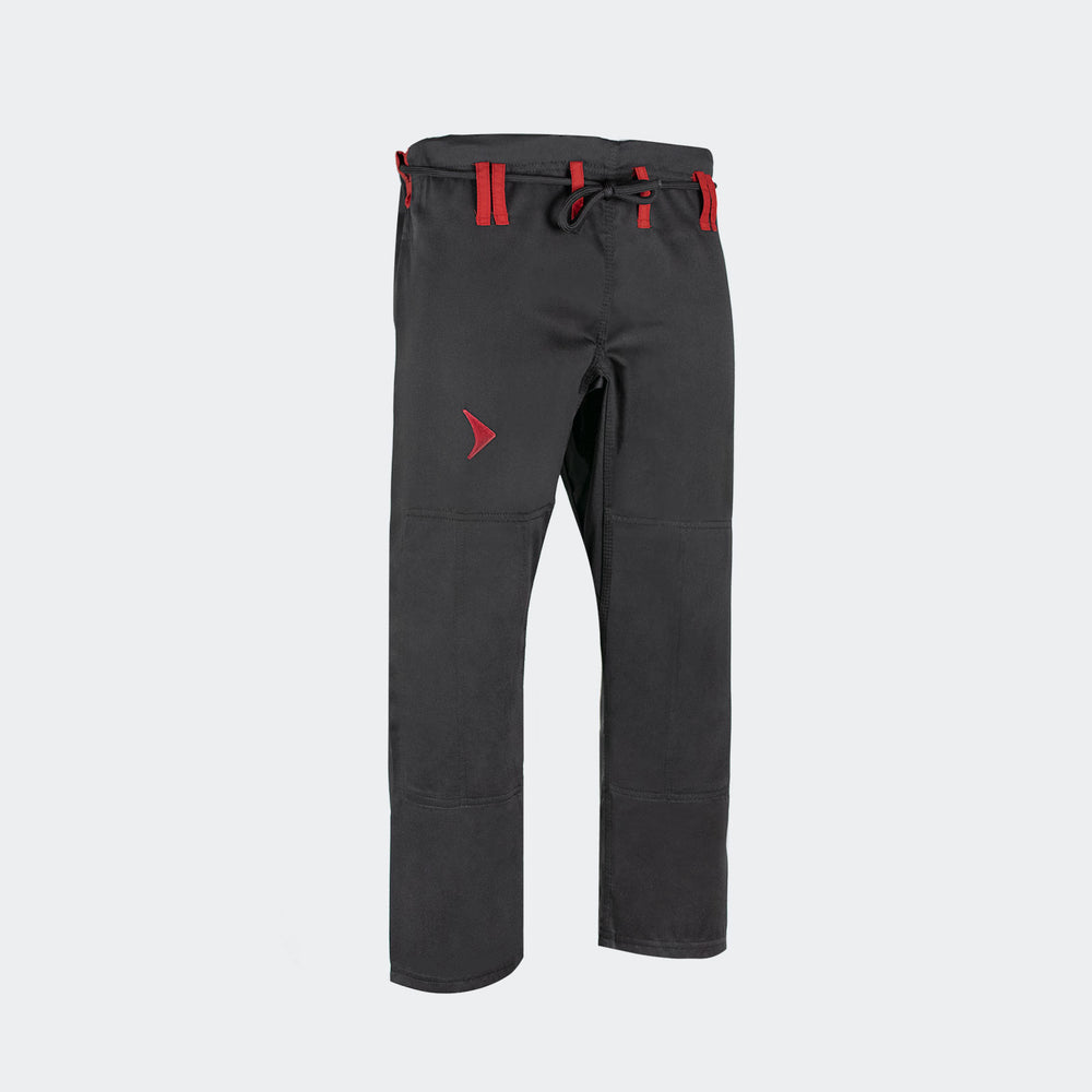 Vali | Isso BJJ GI Pants cotton 10oz For Brazilian Jiu Jitsu Gi Kimono Uniform black red