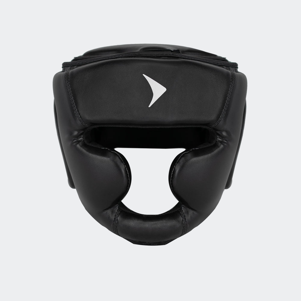 vali head guard headgear boxing mma kickboxing muay thai sparring training black protector