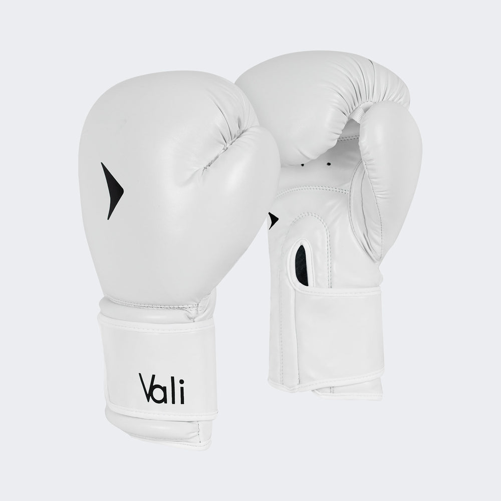 Vali | Nista Boxing Gloves for MMA Muay Thai Kickboxing Training Sparring pair mens combat women's professional pro pair white