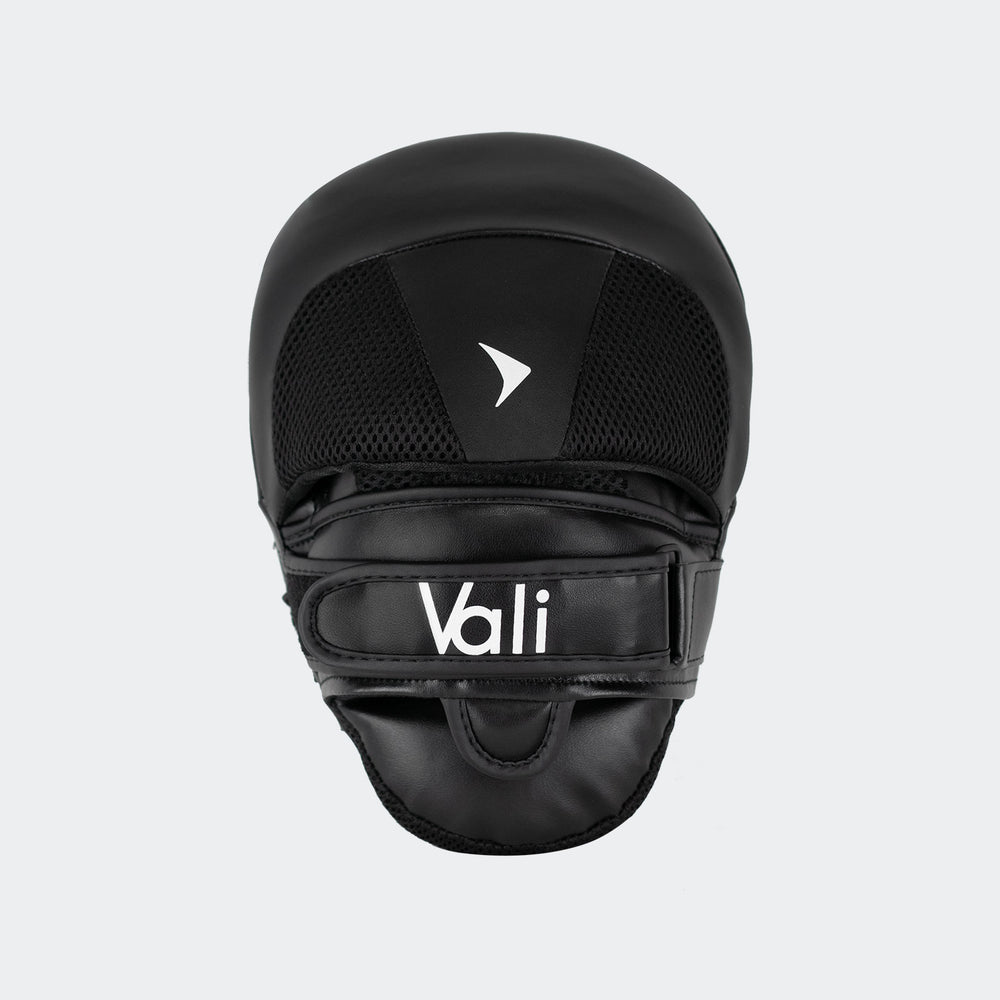 vali boxing focus mitts pads hand target target hook jab white black