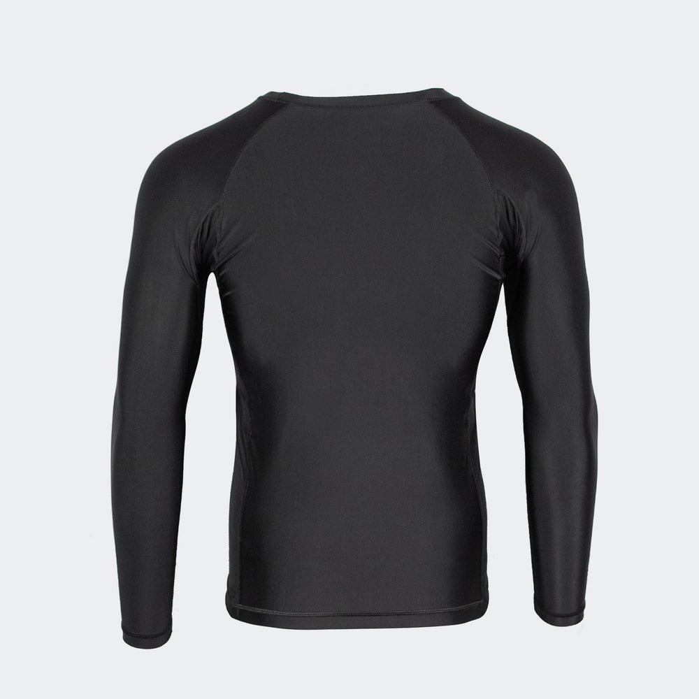 vali mma rash guard compression rashie for no gi bjj brazilian jiu jitsu long sleeve black