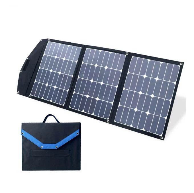 Camping Travel Use sunpower 100w foldable solar panel