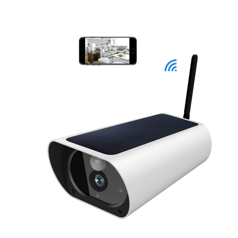 1080P solar camera waterproof security cctv camera outdoor Security IP Camera wifi solar charging