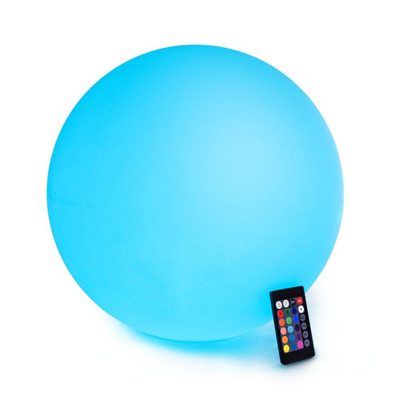 20cm  30cm 40cm 50cm 60cm 80cm outdoor Waterproof Colorful Solar Ball Light - Remote Control
