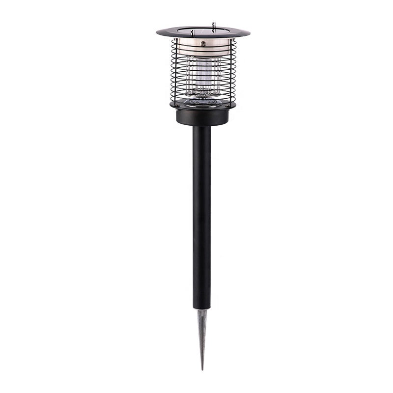 Solar Powered Pest Bug Zapper Insect Mosquito Killer Lamp for Residential and Commercial Use