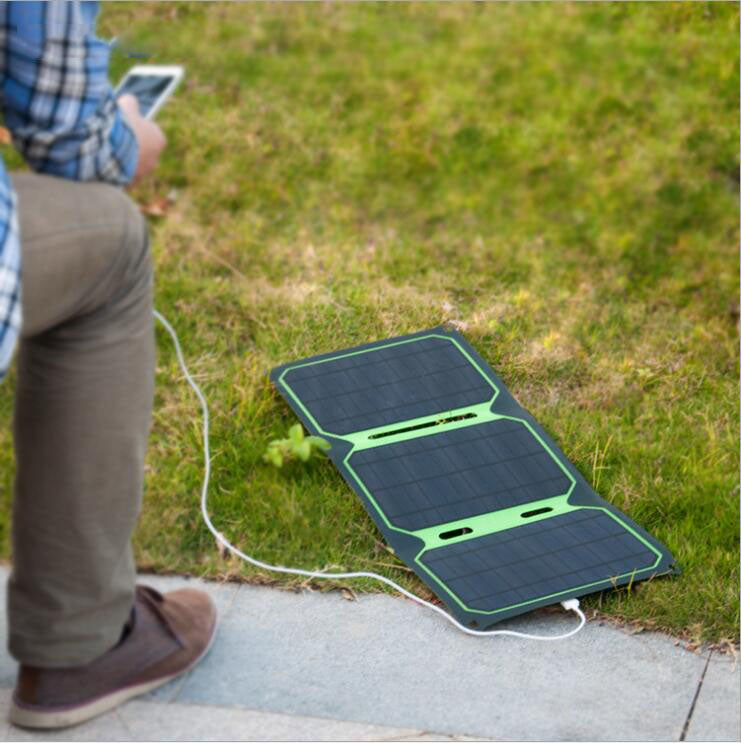 Greenbar wholesale 18 W sunpower mini solar panel outdoor portable waterproof folding camping solar panel cell
