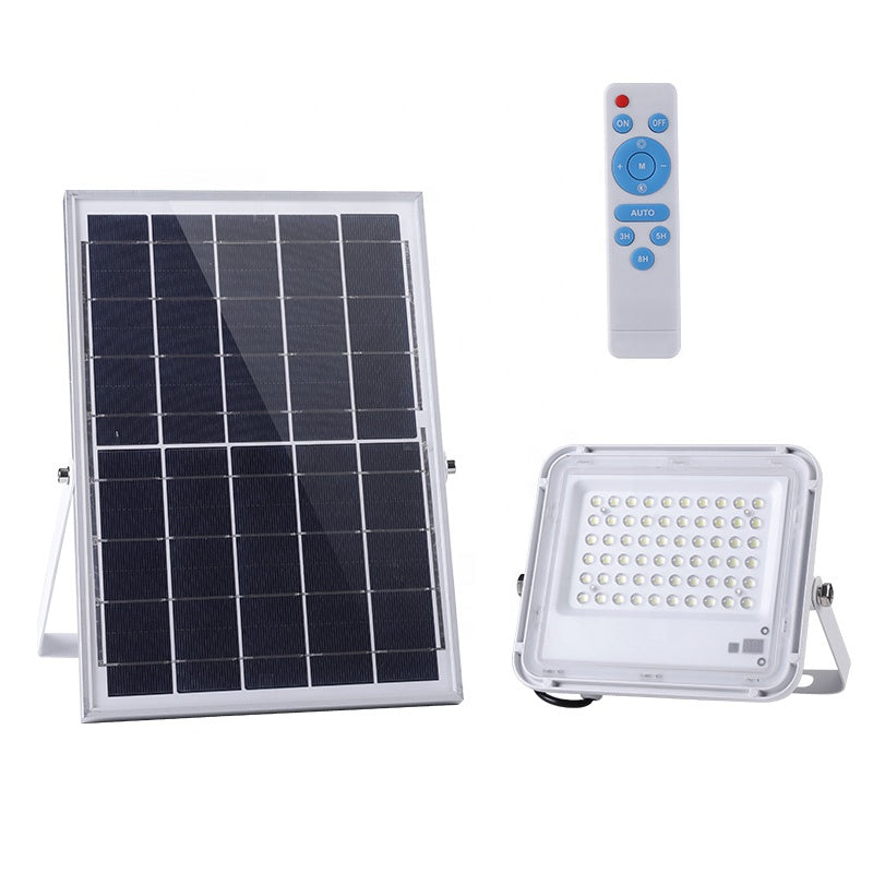 60W 100W 150W White Solar Security Wall Light Outdoor Yard Led Solar Motion Sensor Flood Light