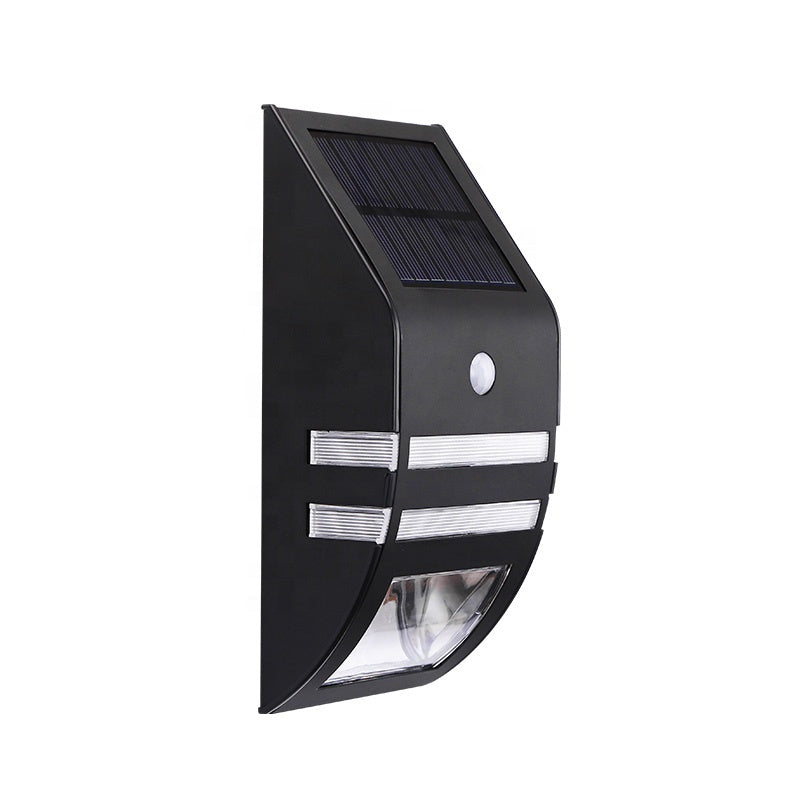 Outdoor Waterproof Stainless Steel Led Solar Security Light With Motion Sensor