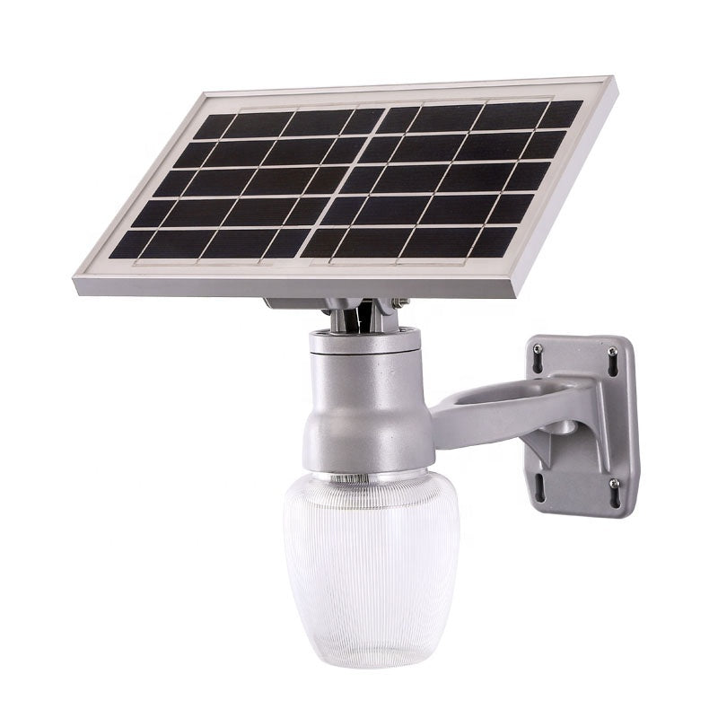 IP65 High Energy SMD 6W Waterproof Patio Garden Path Public Wireless Security Integrated Apple Led Solar Street Light