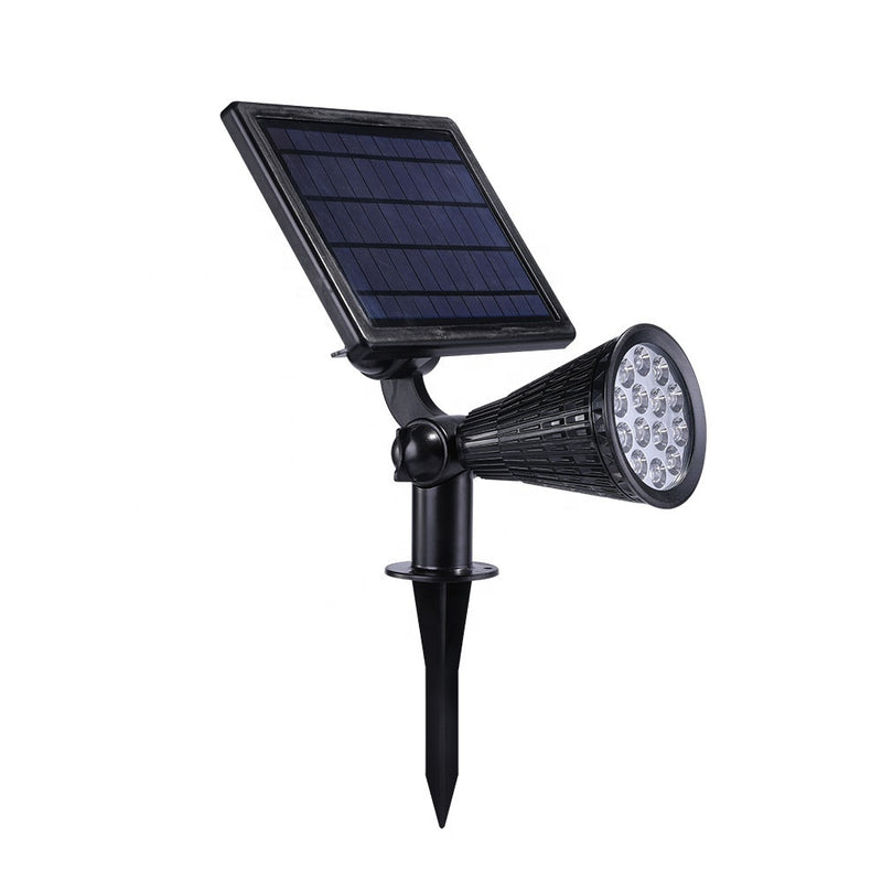 14 LED IP65 Waterproof Landscape Outdoor 3.7V Solar Power Tree Light Led Pin Spot Light Garden Spike Light