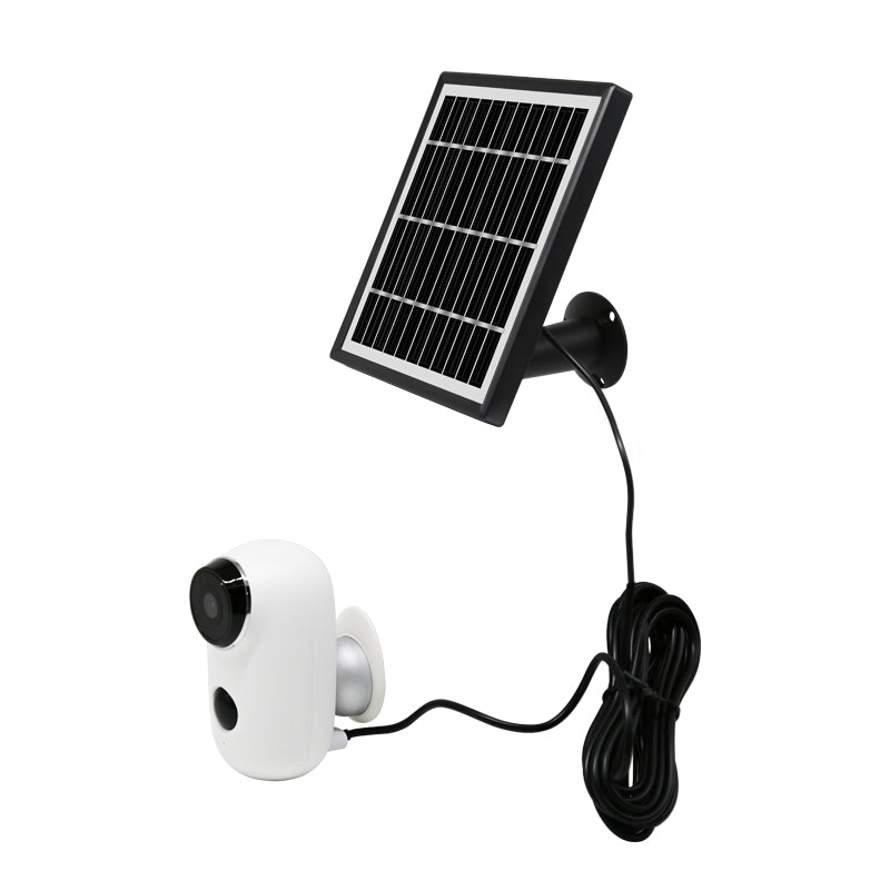 720P Battery Powered IP Camera Kit with Solar Panel Wifi Low-power CCTV Camera Combination