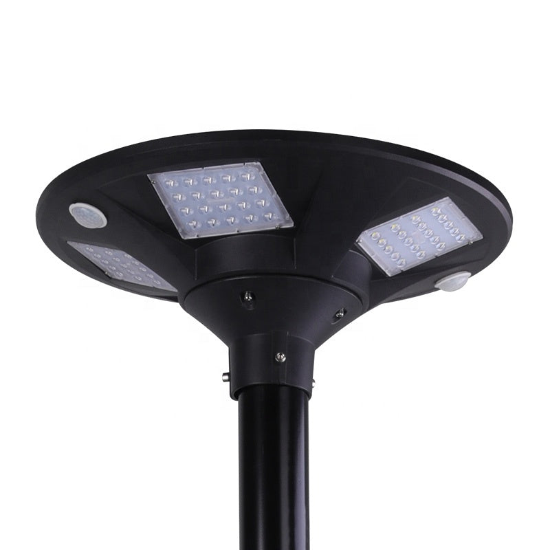 15W Aluminum Lamp Body Material and LED Light Source Area All In One Solar Plaza Light