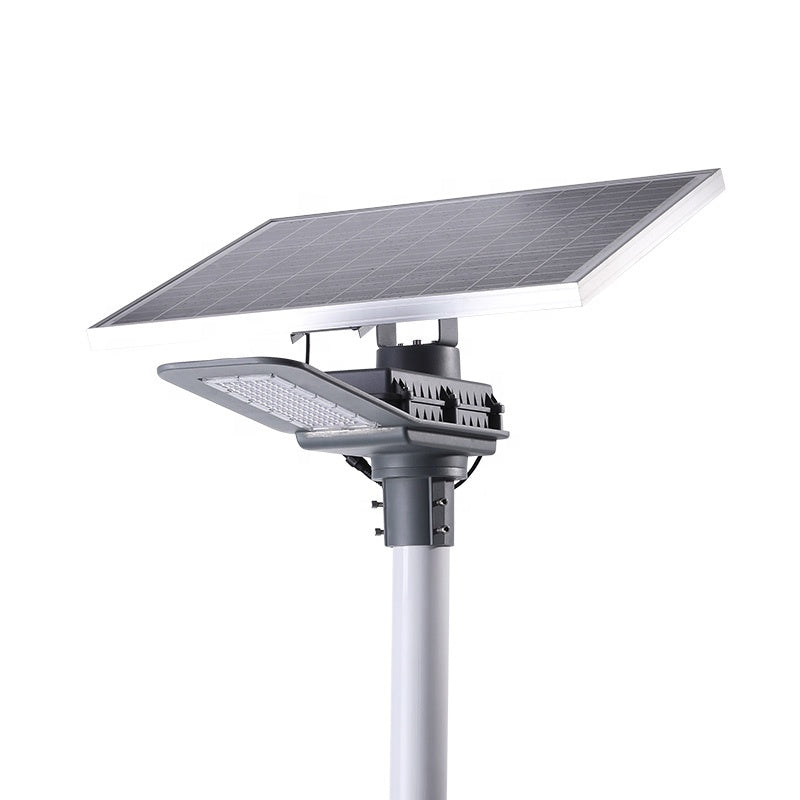 Lithium Battery Outdoor Smart Solar Panel  30W 50W Solar Led Street Light |  2 Pieces (Min. Order)