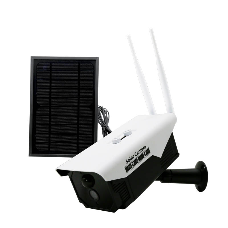 1080P Wifi Solar Power Cctv Ip Camera Kit with Extra Solar Panel 2.0MP Lens1