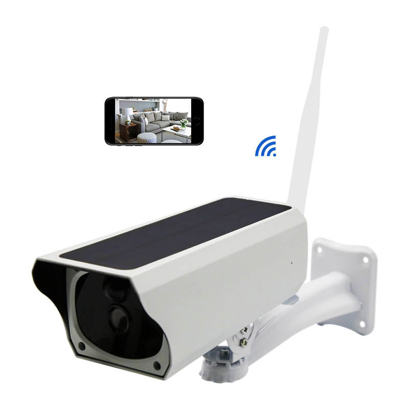 Promotion 1080P CCTV Security Solar Power Outdoor WIFI IP Camera