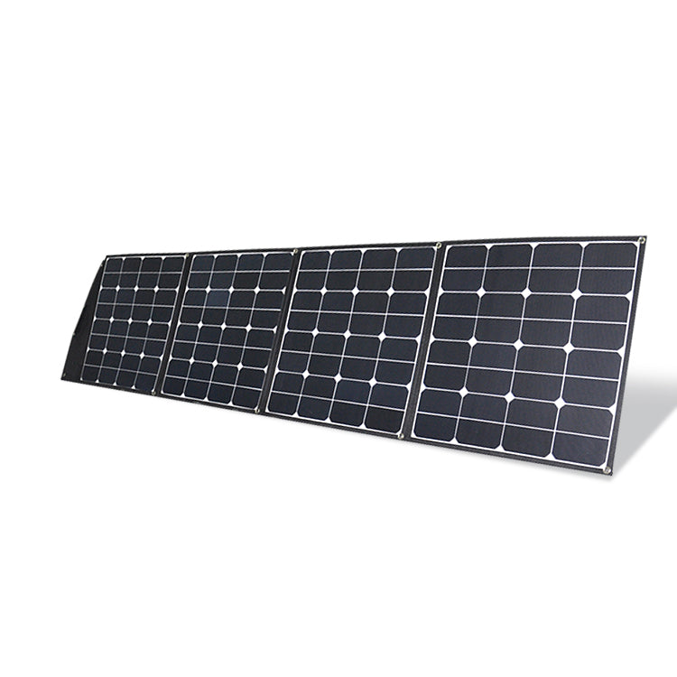 200W 18V Sunpower Portable Foldable Solar Panel For Camping Kits