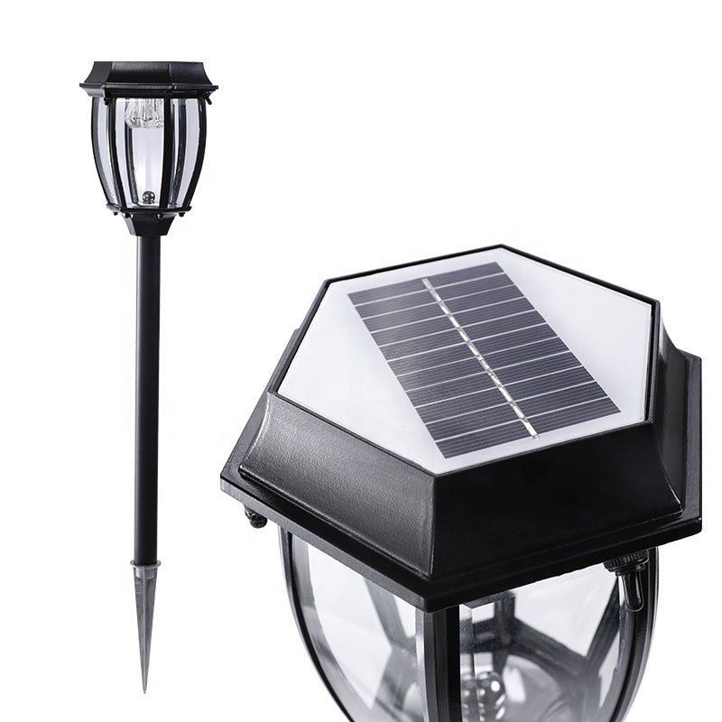 IP55 Waterproof 1W Outdoor Aluminum Decoration Pathway Lawn Led Solar Garden Stick Light