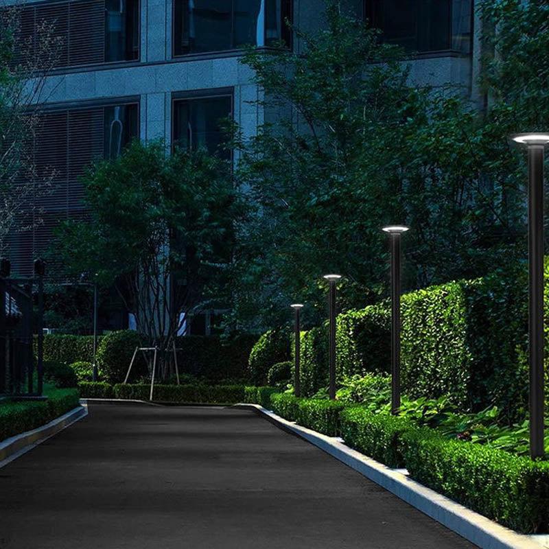 3W Low Voltage Double Head Outdoor Aluminum Brass Garden Path Lawn Solar Landscape Light