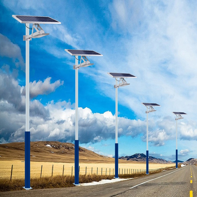 IP65 Waterproof Highways Path Road Lighting Fixture With Solar Panel System Outdoor Led 15W 24W Solar Street Light