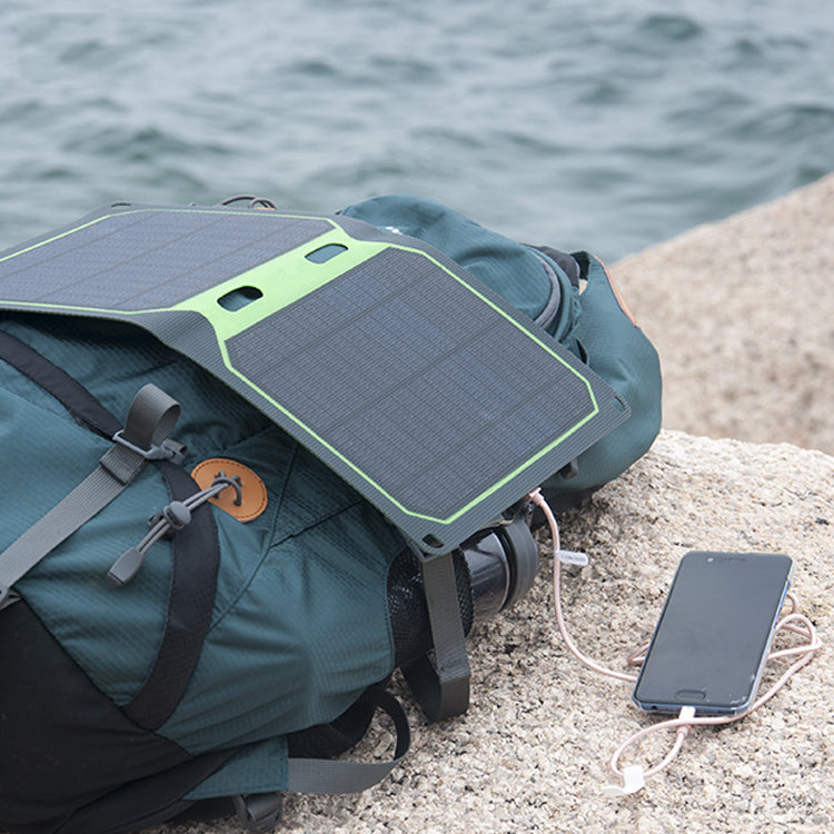 12W 18W 25W 5V ETFE portable waterproof mini solar panel dual USB output foldable solar panel charger for phone pad power bank
