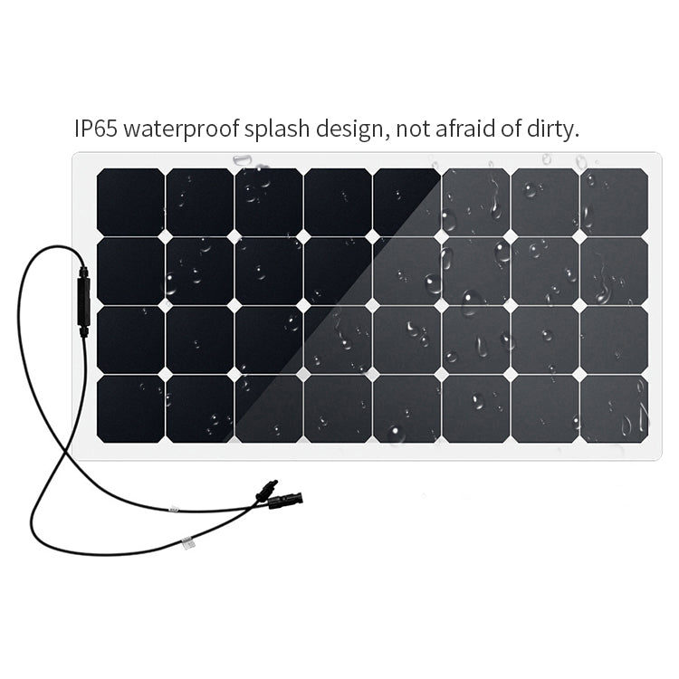100W 120W 160W solar charger | Wholesale Sunpower Solar Cell Yacht And RV 18V Semi Flexible Solar Panel MC4 Output