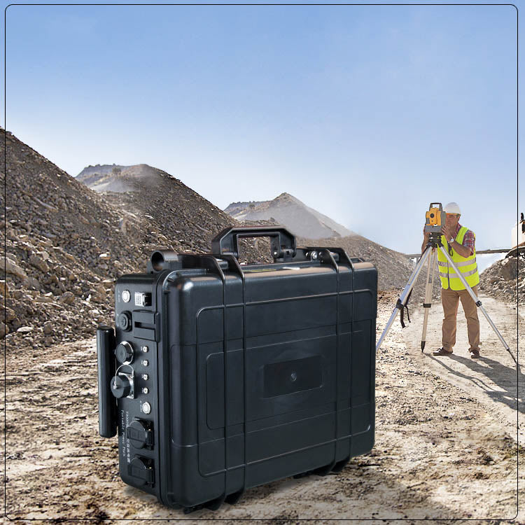 portable 3000W high power solar generator for industrial and military use
