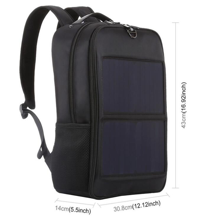 14W Solar Backpack (14W太阳能背包)