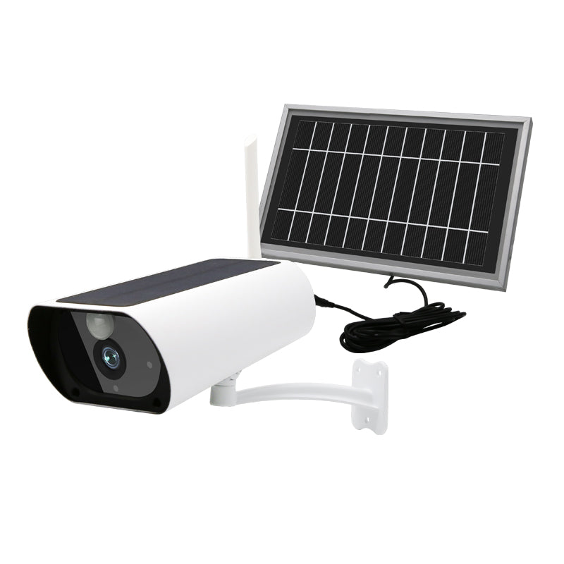 1080P 4G Solar Power Cctv Ip Camera Kit Sim Card Supported with Extra Solar Panel