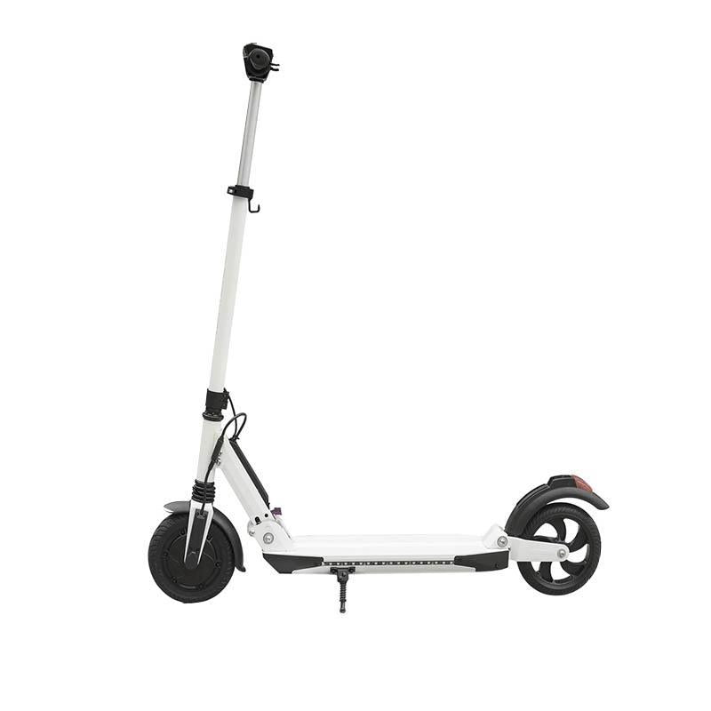 8.5 inch neutral scooter Teco 7.8Ah / with APP / with Bluetooth / with marquee / maximum speed 30km / h / full power mileage 25KM / solid tire / with foreign version APP with digital display