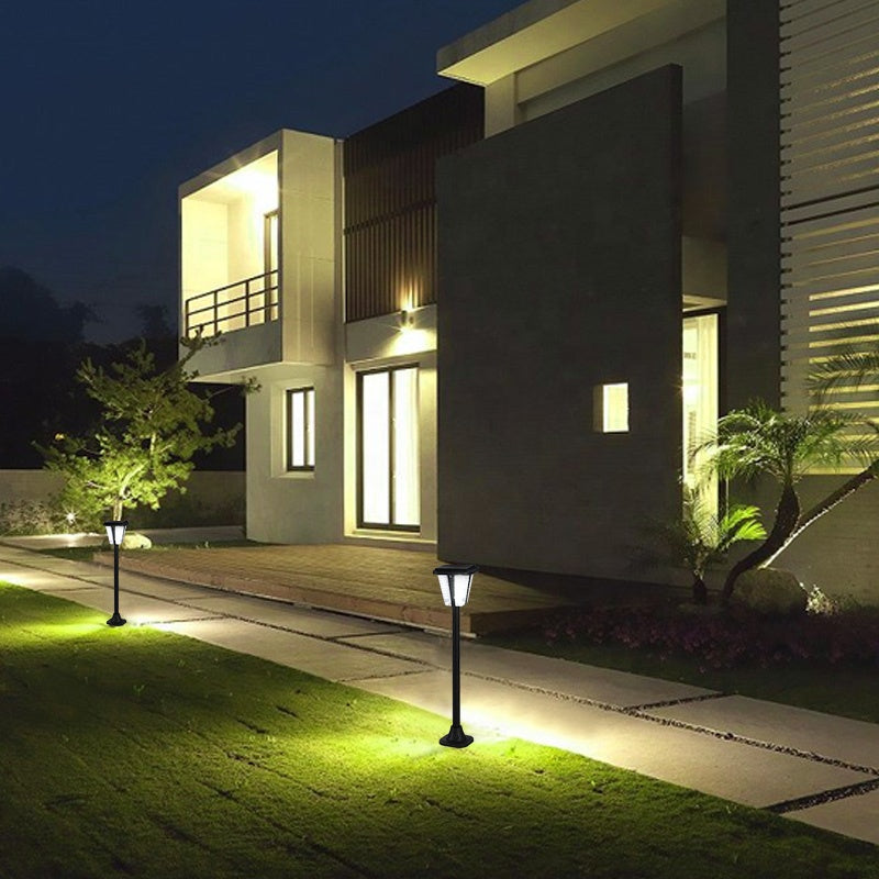 New Arrival Modern 3W Monocrystalline Silicon Solar Panel Aluminum IP65 Waterproof Lawn Lamp Led Outdoor Garden Bollard Light