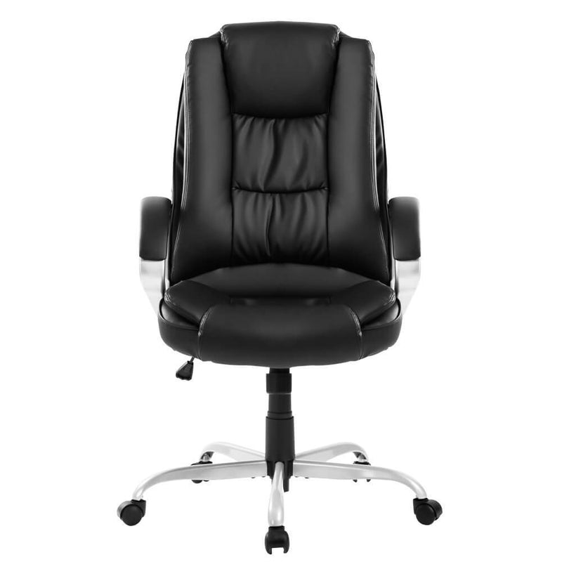 Luxury Leather Swivel Chair 65x53x118cm