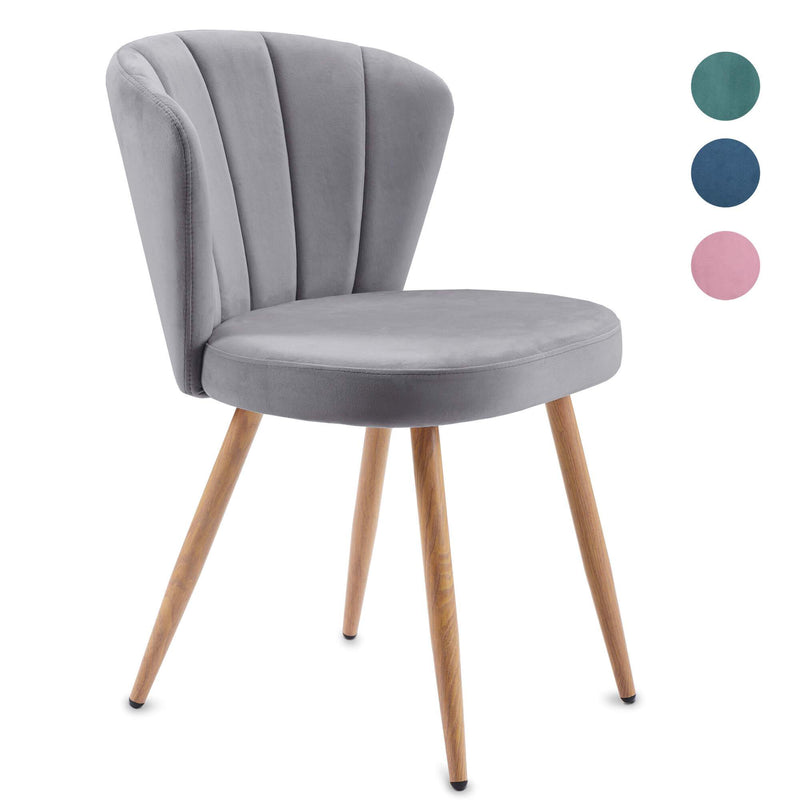 Oyster Armchair Grey