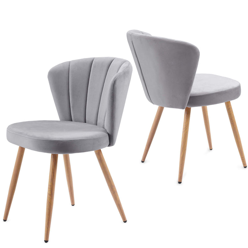 Oyster Armchair Grey*2