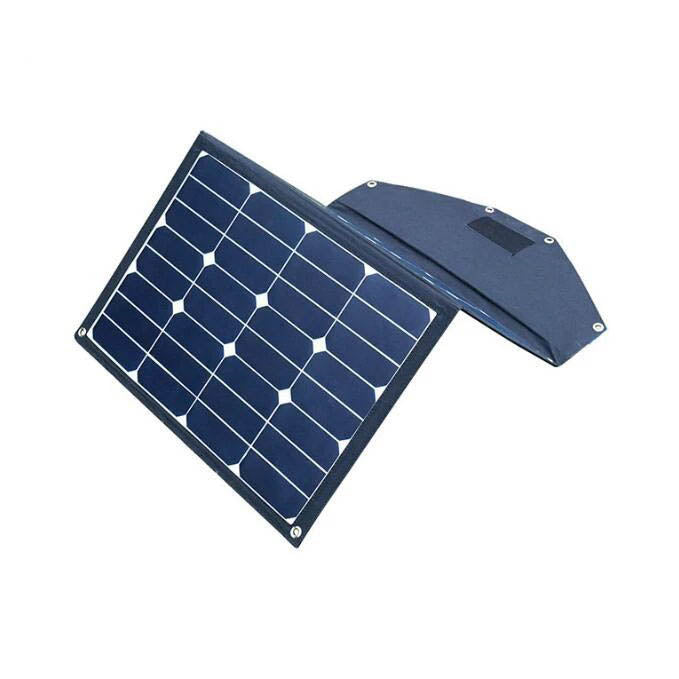 Folding Solar Panel 70W With Brackets Imported American High Efficiency Sunpower