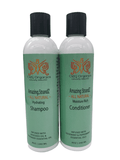 Hydrating growth shampoo and conditioner