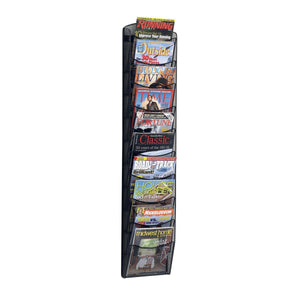 10-Pocket Onyx™ Magazine Rack by Safco in - for The Eggleston Group