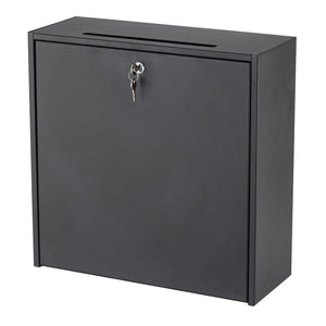 "18x18"" Wall-Mounted Interoffice Mailbox with Lock by Safco in - for The Eggleston Group"