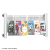 Luxe™ Magazine Rack - 3 pocket
