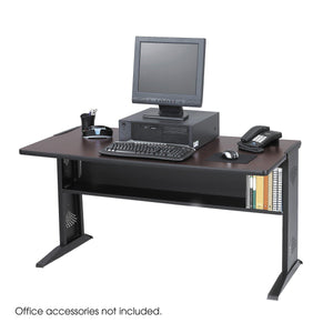 "48""W Reversible Top Computer Desk in Default Title - Office Furniture Desks by Safco - Only at the-eggleston-group"