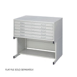 Facil Flat File High Base-Small