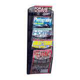 5-Pocket Onyx™ Magazine Rack