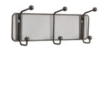 Onyx™ Mesh Wall Rack 3 Hook (Qty. 6)
