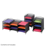 Onyx™ 5 Drawer Mesh Literature Organizer