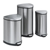 Stainless Step-On 10 Gallon Receptacle