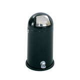 Dome Step-On Receptacle, 9-Gallon